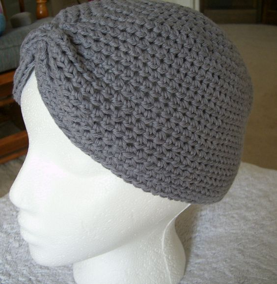 Free Crochet Turban Hat Pattern Let Me Air Out My Inner Old Lady