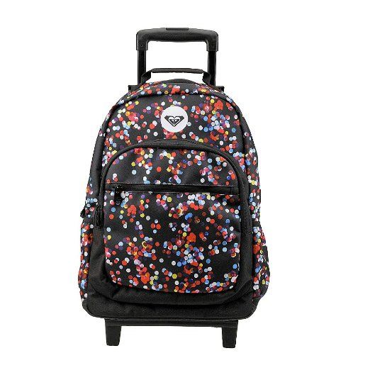 Amazon.com: Roxy Juniors Adventure Roller Backpack, True Black ...