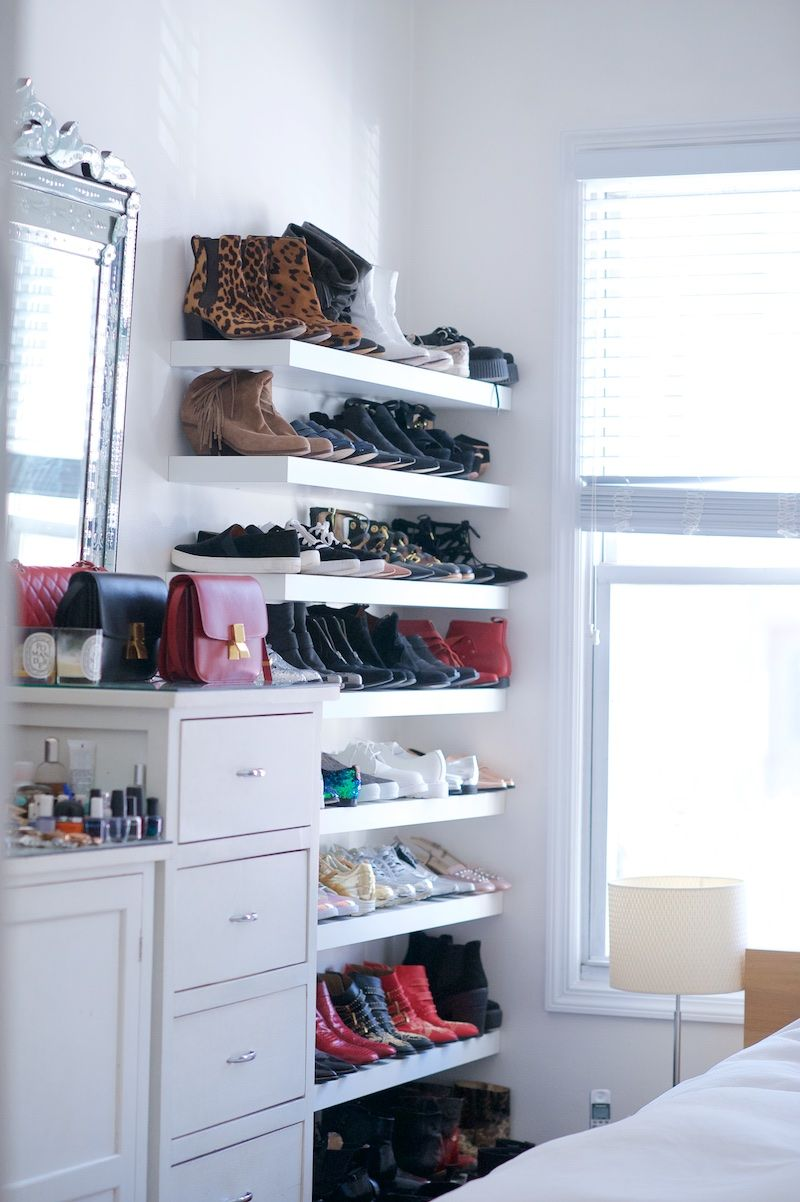 Shelf Shoe Cabinet 100 Floating Shelves Perfect For Storing Your Belongings Closet