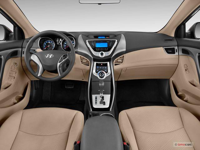 2013 Hyundai Elantra Dashboard Elantra Hyundai Elantra Hyundai