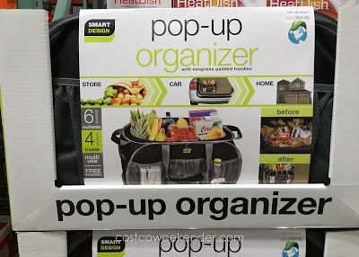 Smart Design Pop Up Organizer Tote At Costco Spring 2016 17