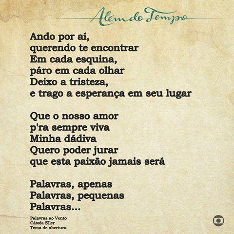Palavras Ao Vento Cassia Eller Composicao Marisa Monte Moraes