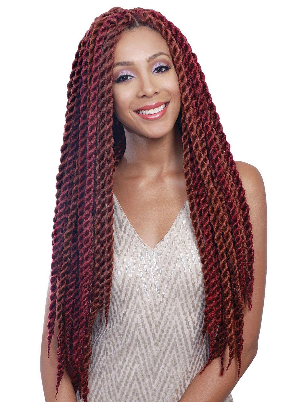 "26 Braided Hairstyles For Teens: Bobbi Boss Senegal Bomba Box Braid 26"""
