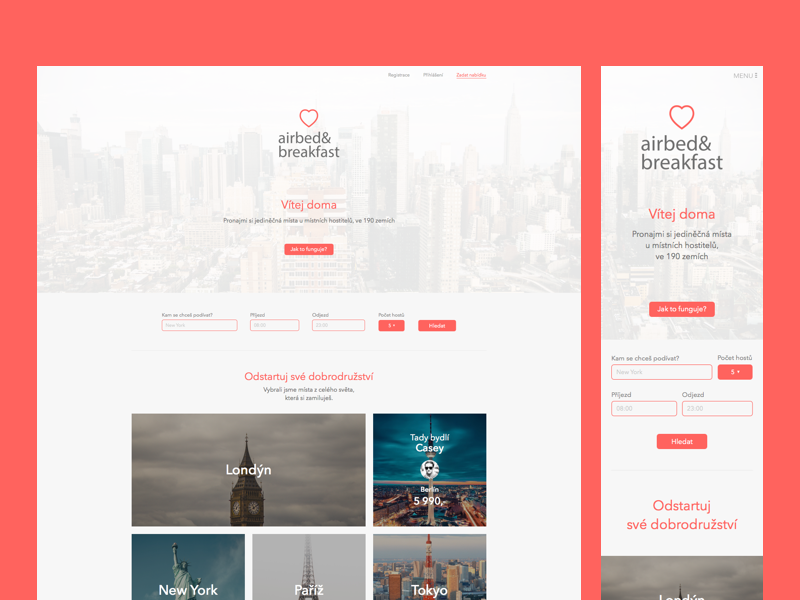 Airbnb Homepage Redesign Redesign Airbnb Web Design