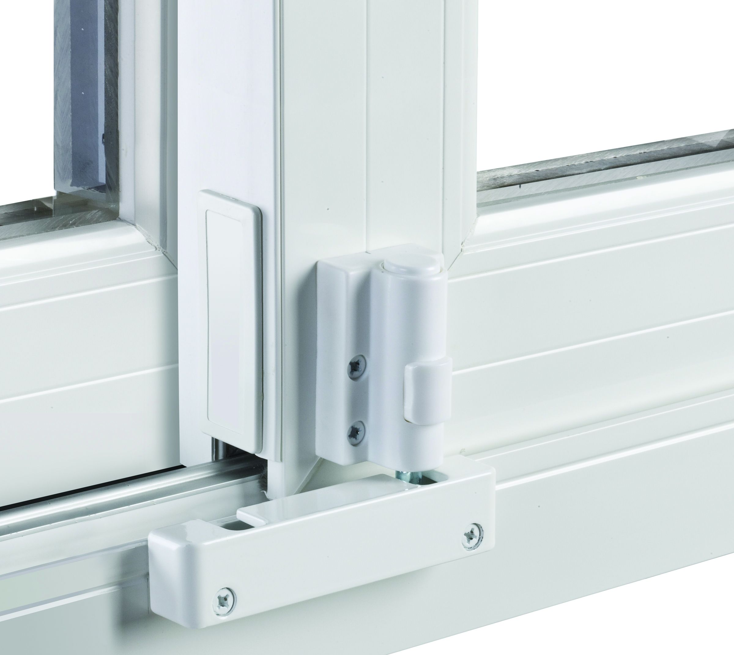 Patio Door Lock Foot Operated