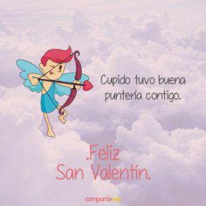 Imagenes De San Valentin Romanticas Con Frases De Amor Y Cupido