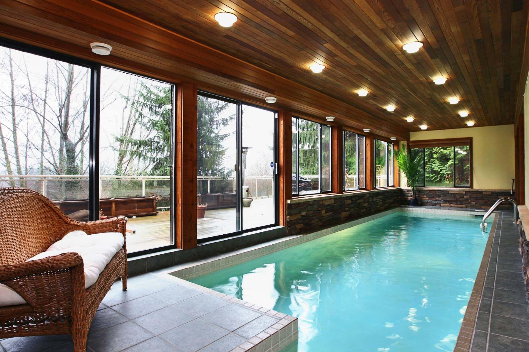 British Properties West Vancouver Indoor Lap Pool Indoor Pool Lap Pool Pool Houses