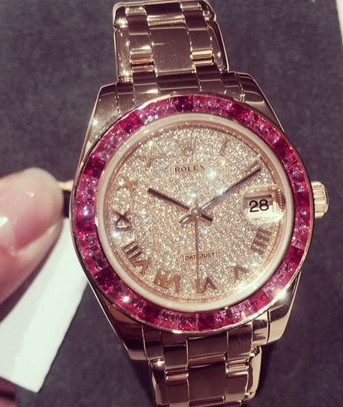 This Rolex With Pink