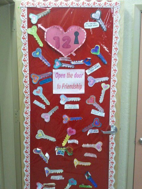 valentine office decorations. Just Decorated My Class Door For Valentine\u0027s Day. It Came Out Real Nice Last Year Valentine Office Decorations