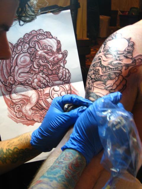 The Symbolism Of Foo Dog Tattoos Foo Dog Foo Dog Tattoo And Tattoo