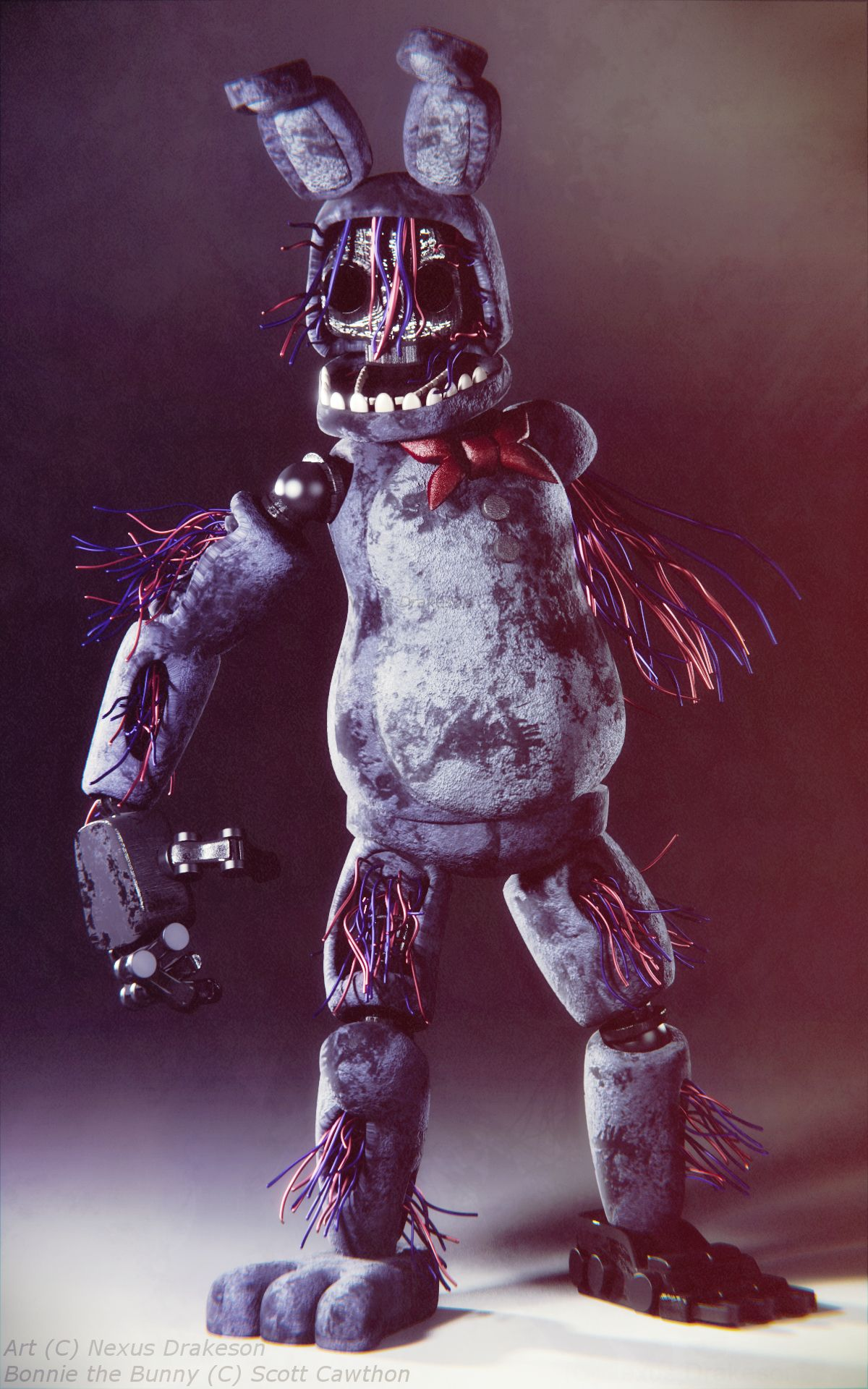Withered Bonnie V4 by NexusDrakeson on DeviantArt | Five