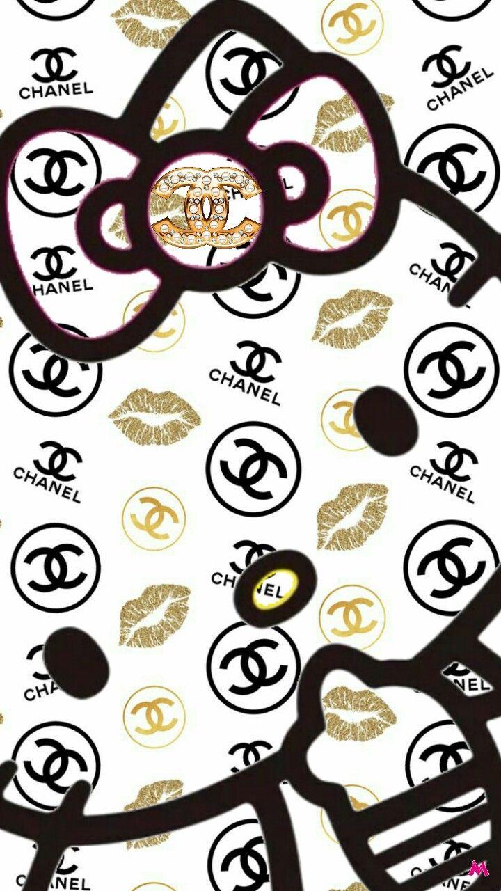 Hellokitty Chanel Hello Kitty Wallpaper Hello Kitty