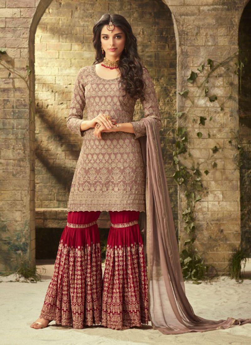 bc3445b4ca9 Shararas - Buy Designer Sharara Suits Online