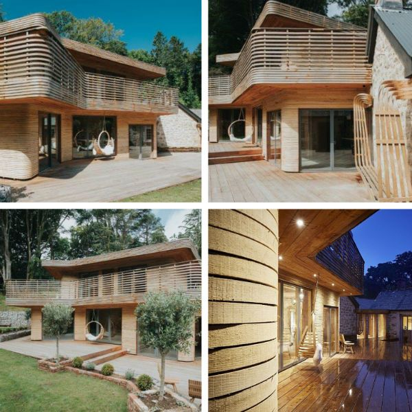 The designer behind a dream home in Cornwall which featured on TV's Grand Designs says he's been blown away by the response after the show was broadcast on Channel 4.    Tom Raffield, who lives...