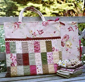 Quilt Bag Block Keeper