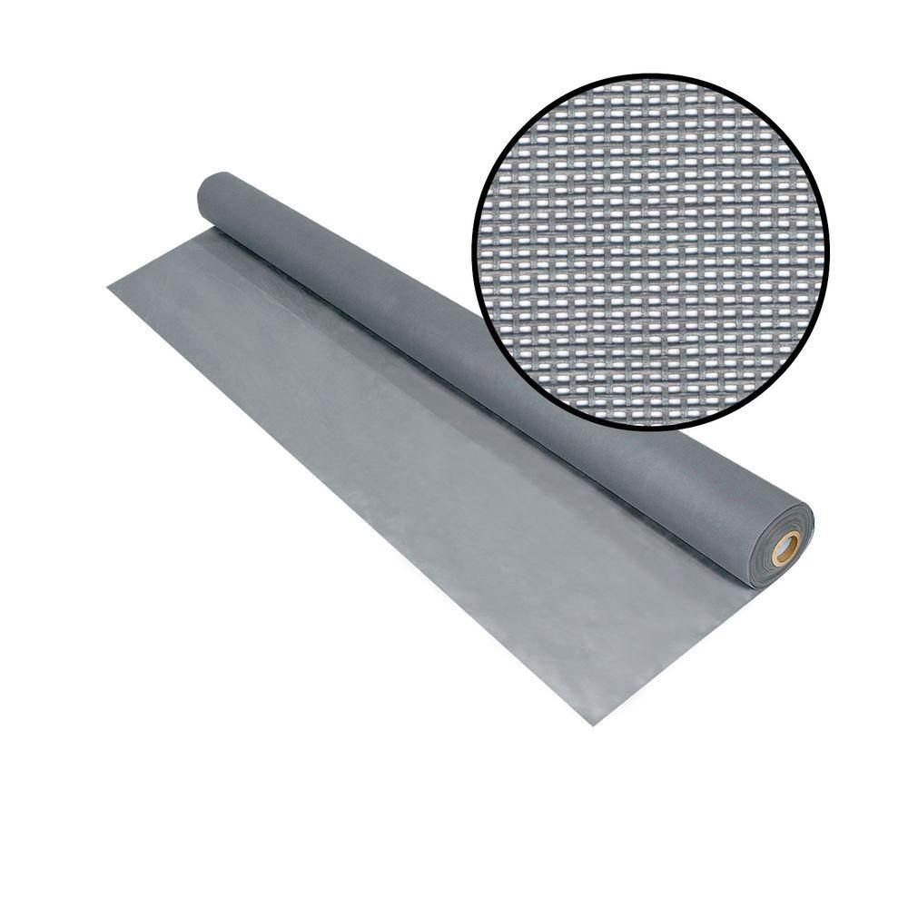 Phifer 48 In X 100 Ft Silvergray Solar Insect Screen 3003847 The Home Depot Fiberglass Screen Insect Screening Mesh Screen