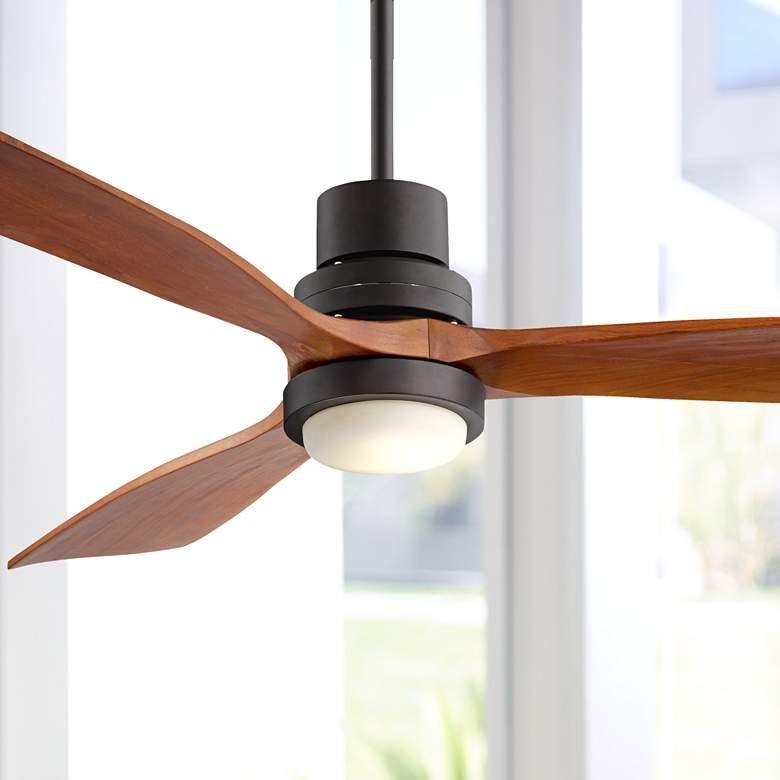 52 Casa Delta Wing Bronze Outdoor Led Ceiling Fan 9c710