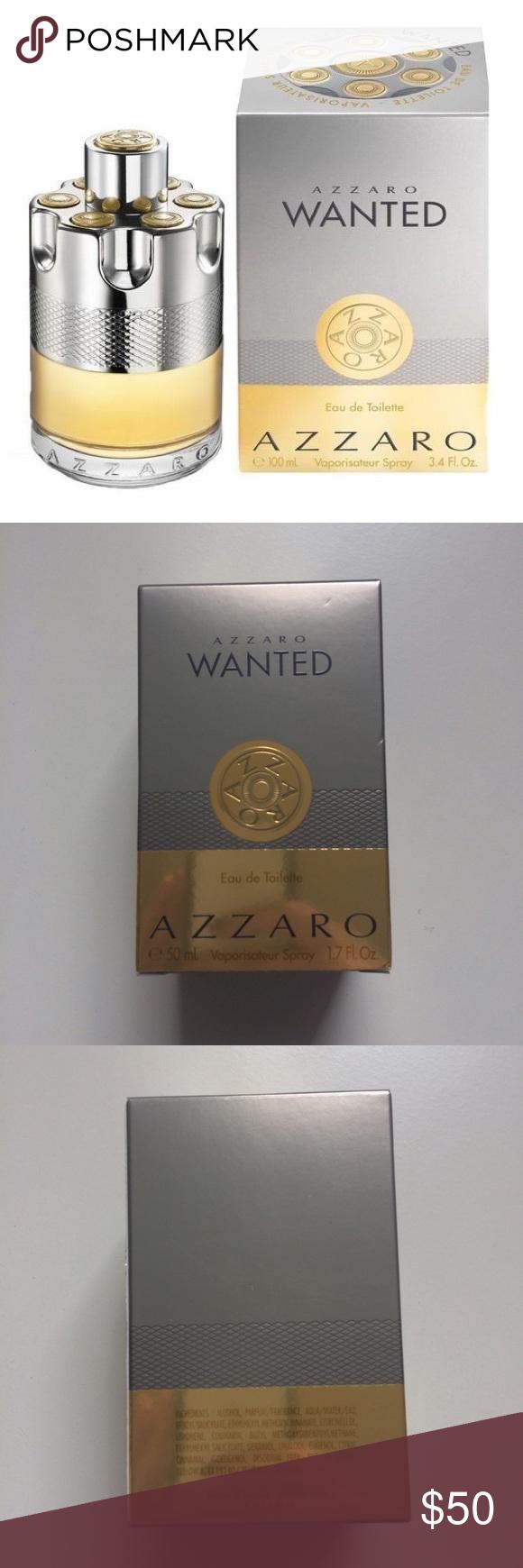 Nwot Azzaro Wanted Eau De Toilette 17oz For Men Nwot Still In Box