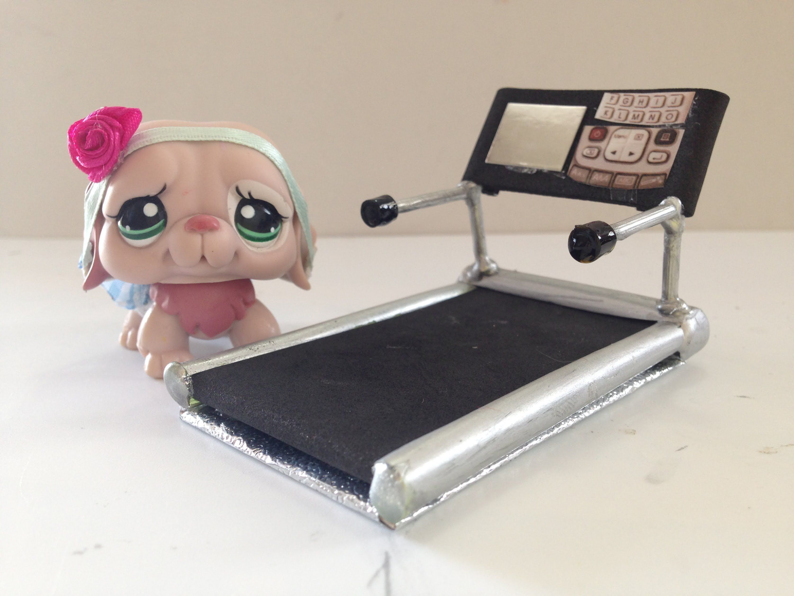 How To Make A Lps Treadmill Garage Diorama Pinterest Watches How To Draw A  Dog Lps