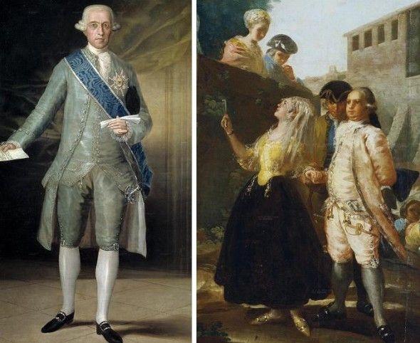 siglo 18 vestimenta