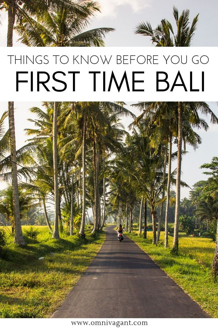 Bali for First Timers: 21 Things to Know Before You Go #thingstowear