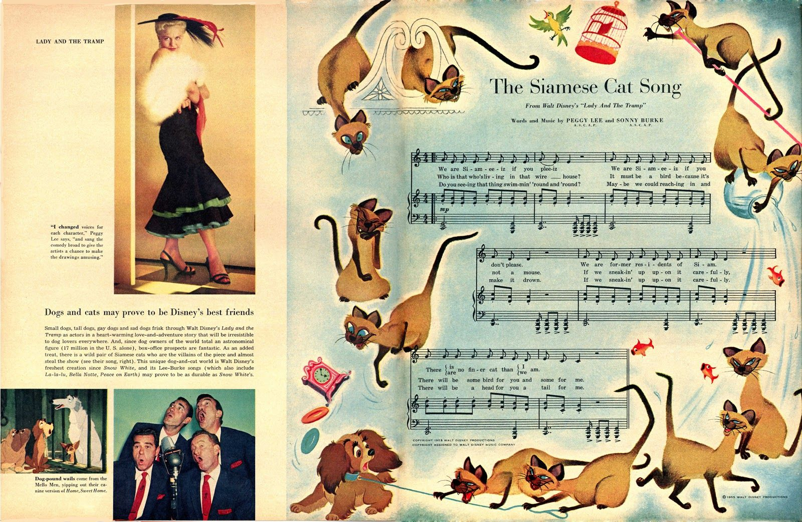 Lady and the Tramp Lady and the tramp, Song dog, Beat
