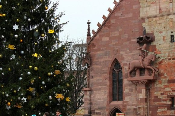 Basel Christmas Market.Basel Christmas Market Photo By Carrie Finley Bajak All