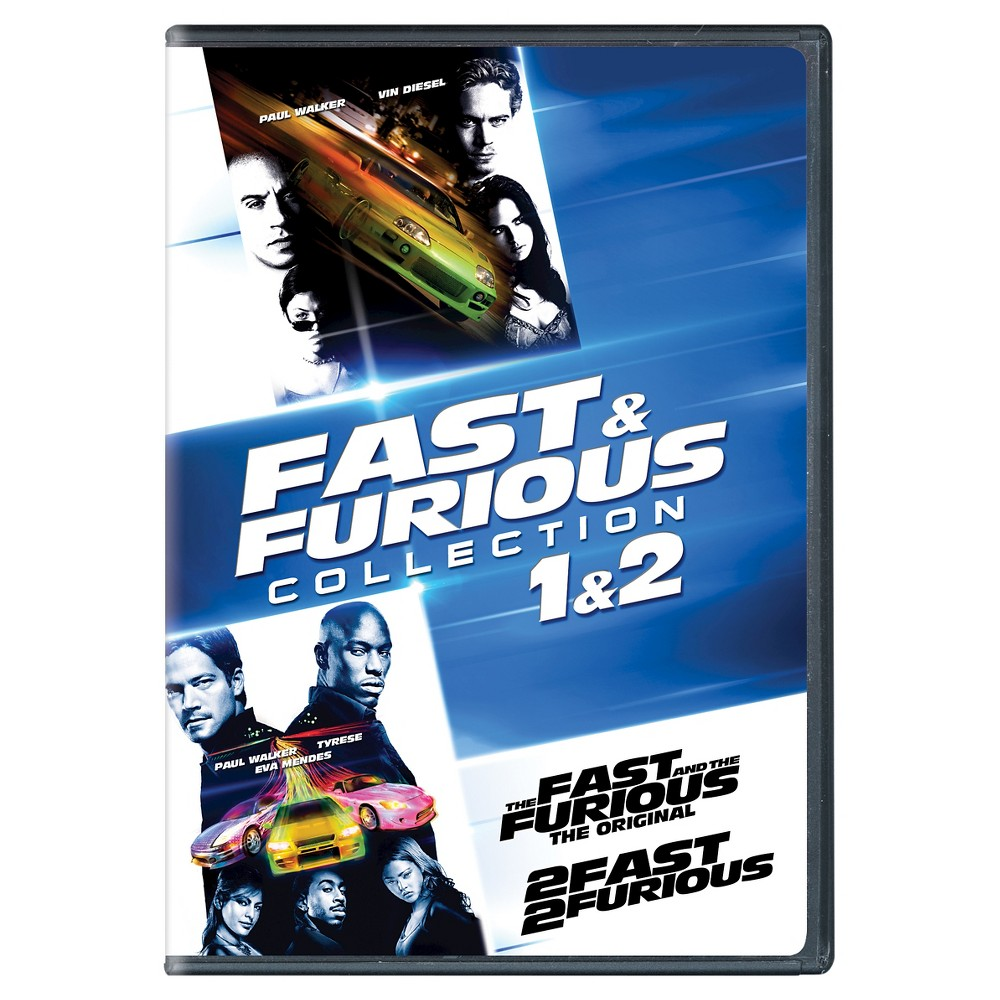 Fast furious collection 1 2 dvd fast and furious