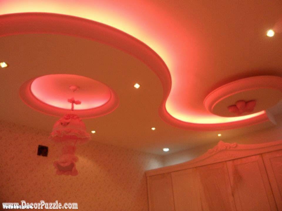POP False Ceiling Designs With Purple Lighting System | Ceiling Design |  Pinterest | False Ceiling Design, Pop False Ceiling Design And Ceilings