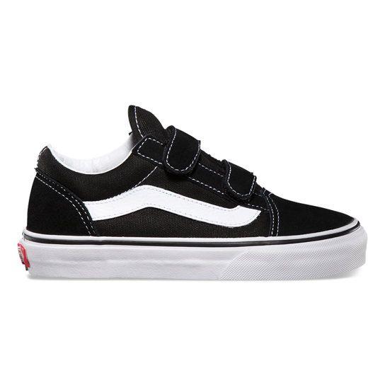 Kids Old Skool Shoes (4 8 years) | Black | Vans | Girls