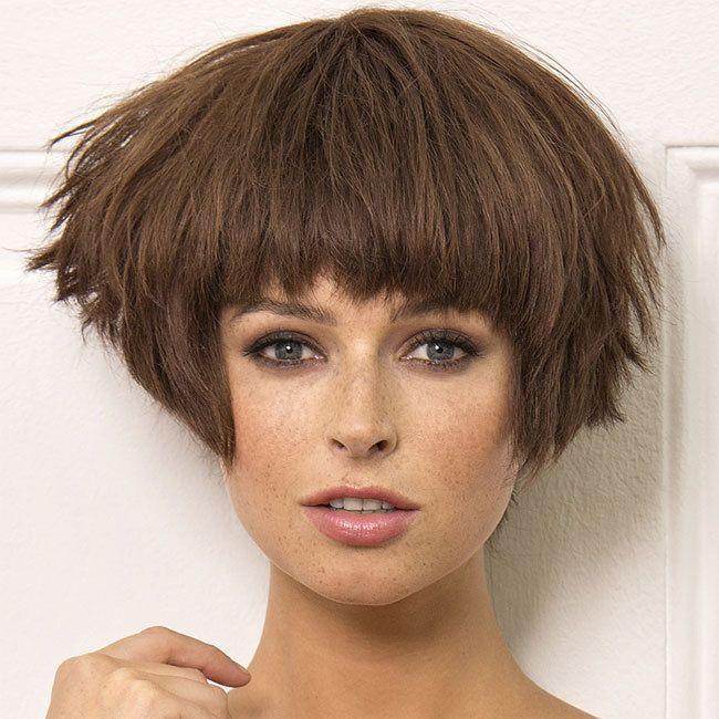 Coiffure cheveux mi-longs - SAINT ALGUE - tendances automne-hiver 2014-2015 | Hair styles ...