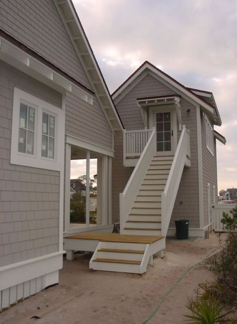 House Plans - Home Plan Details : Narrow Lot Beach House | For The ...