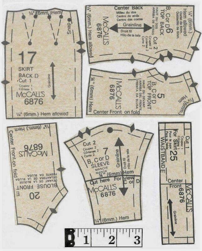 Full Size Pattern: http://adf.... | Muñecas patrones y Vestidos ...