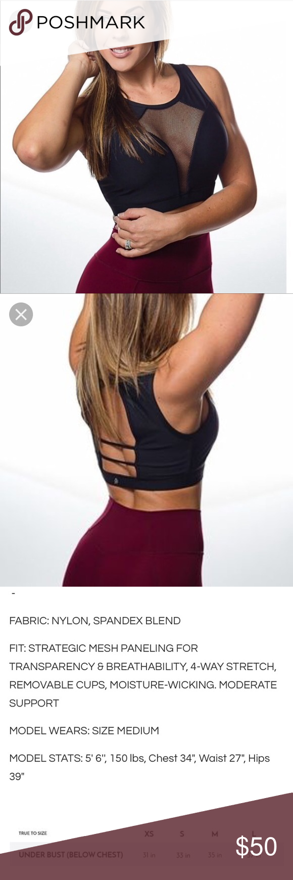 Ptula Grace Fearless Bra Xs Black Clothes Design Fashion Tips Fashion Design Padded sports bras come with removable cups for customised support, while running sports bras with elasticated underbands help reduce bounce. pinterest