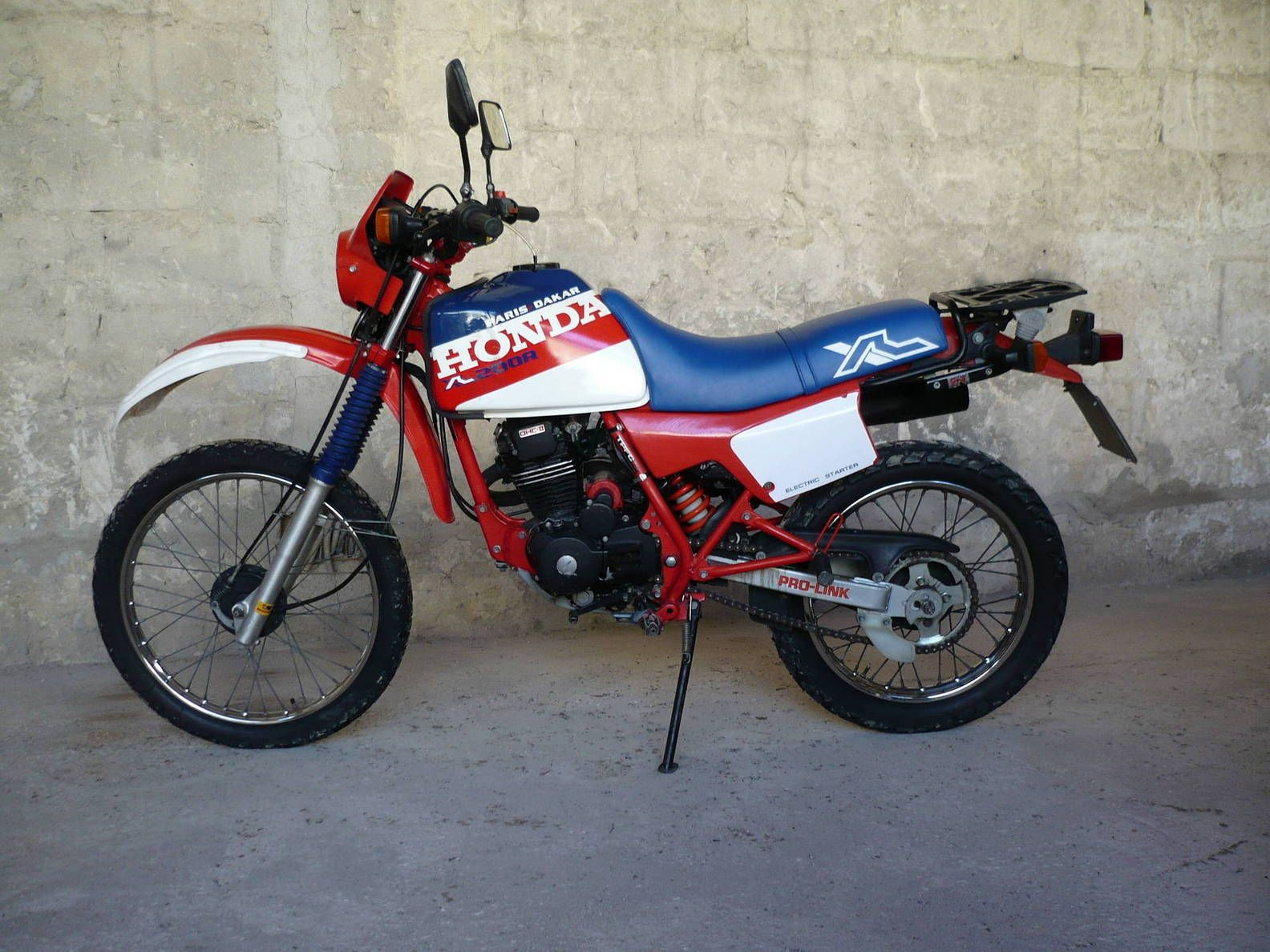 honda xl 125 paris dakar honda xl pinterest honda. Black Bedroom Furniture Sets. Home Design Ideas
