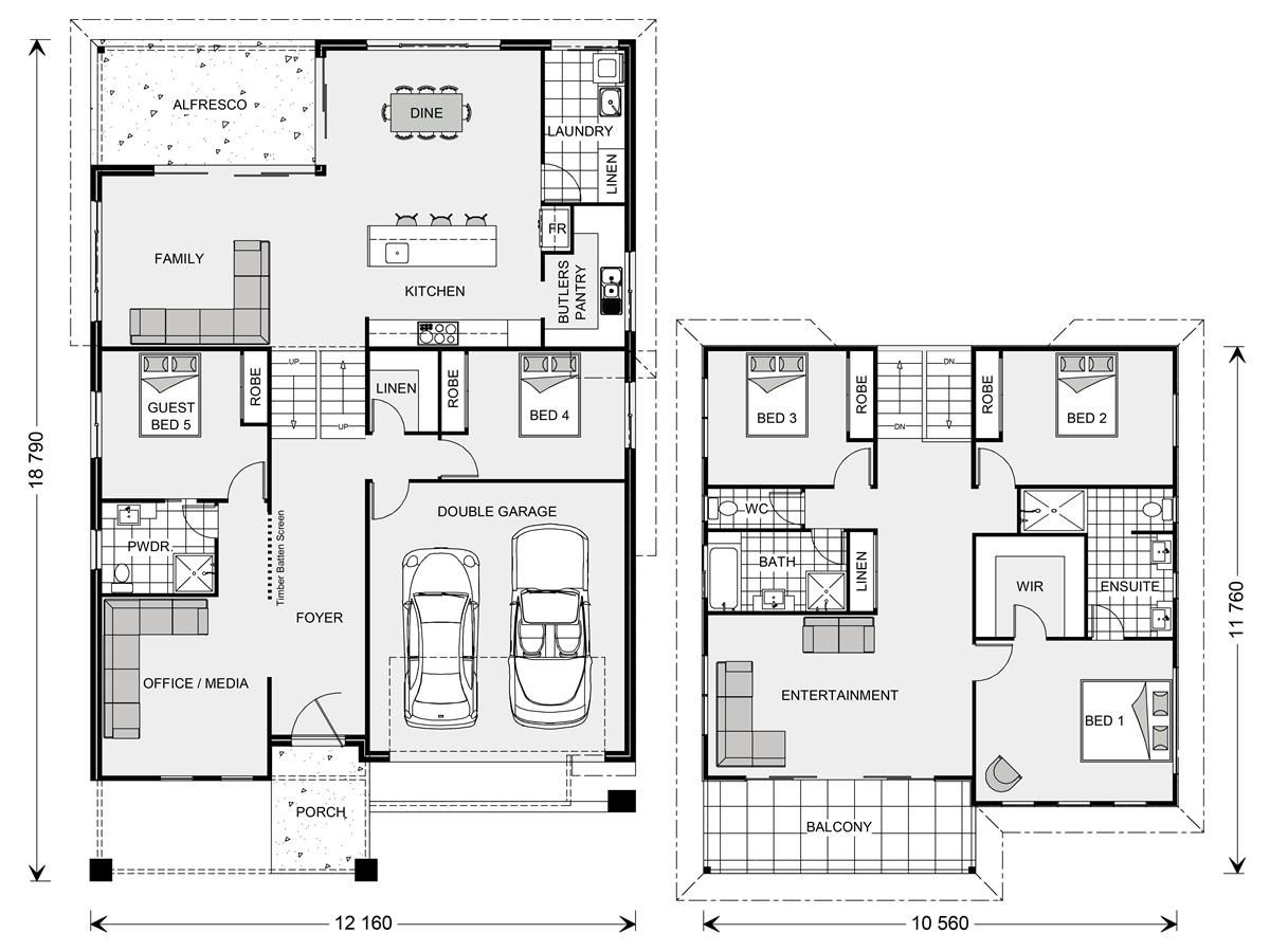 Seaview 321 - Split Level, Home Designs In Dubbo