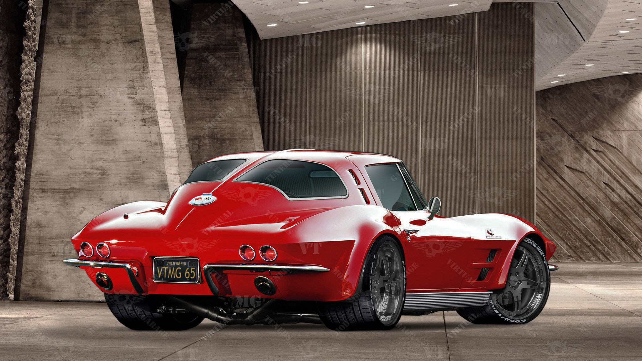 "1963 Chevy Corvette Split Window Coupe ""War Horse"" cars"