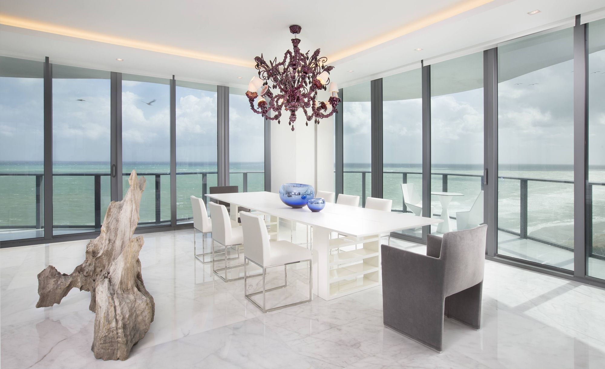 luxury dining room britto charette interior miami projects best
