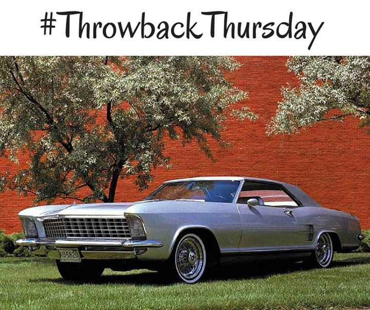 A Tbt From The Early 1960s When The First Generation Riviera Hit