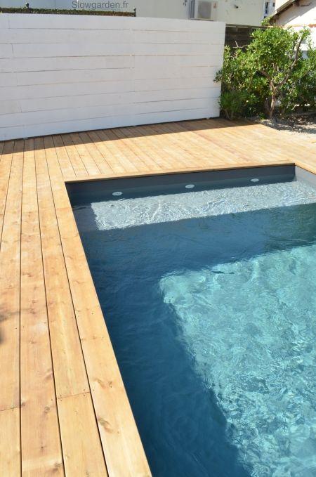 °°Plage de piscine en bois à Marseille°°