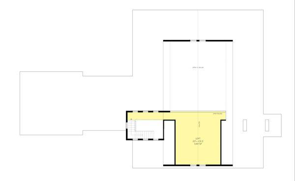 Farmhouse Style House Plan - 3 Beds 250 Baths 3754 Sq/Ft Plan #888