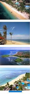 Enjoy the beauty of the beach at Nusa Dua Bali