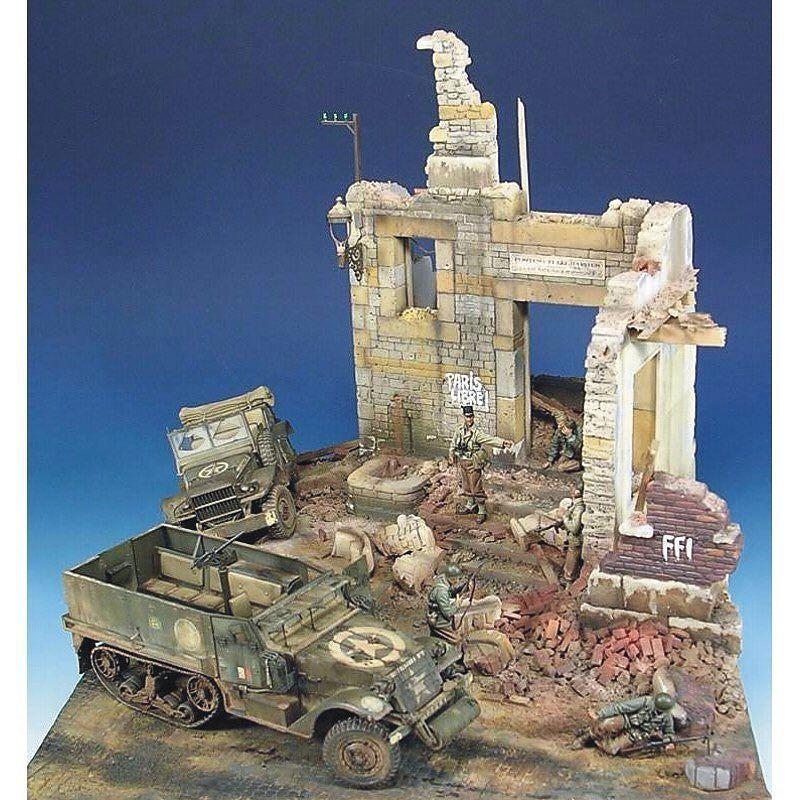 Incrível Dio! Incredible Dio! By: kentajohansson From: forocoches  #udk #usinadoskits #plastimodelismo #plastickit #miniatura #miniature #scalemodel #dio #diorama #dioramas #hobby #passatempo #scalemodel #guerra #war #destruição #destruction