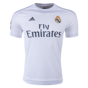 2015 16 Real Madrid Home Jersey Soccer Jersey Soccer Shirts Jersey Shirt