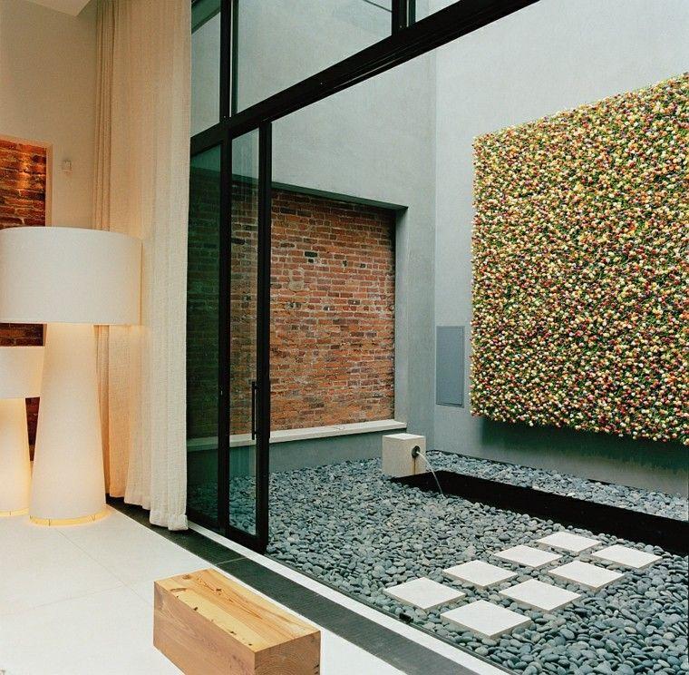diseño de interiores modernos . inspiraciones | Patio interior ...