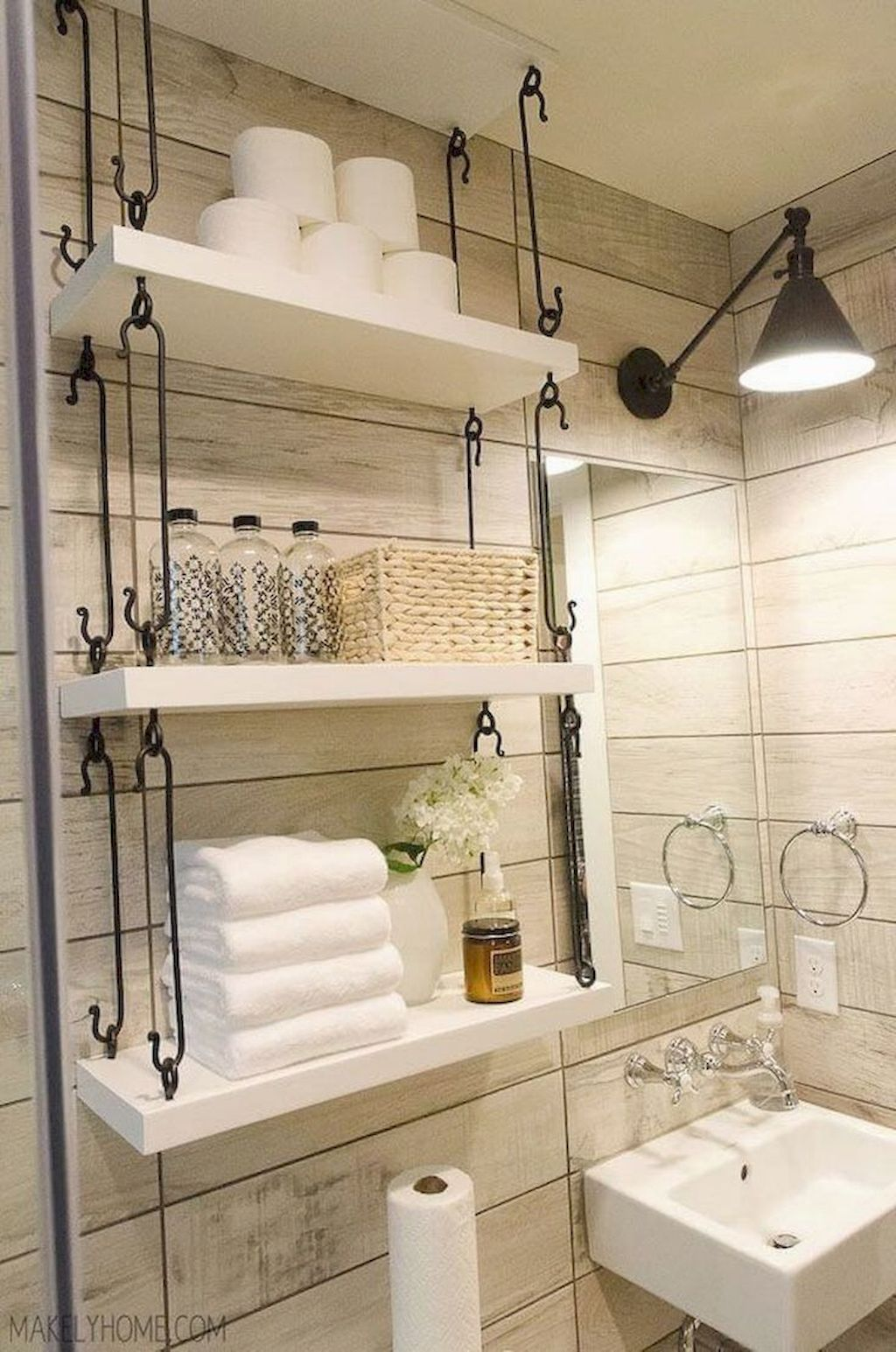 Amazing Small Bathrooms In Small Appartment Ideas Home To Z Tiny Bathroom Storage Bathroom Storage Solutions Small Bathroom Storage