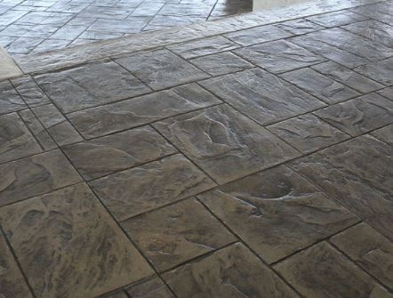 Foundation Armor AR350 Stamped Concrete Patio/Driveway.  Http://www.foundationarmor