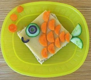 Desayunos para ni os con figuras divertidas desayuno for Platillos para ninos