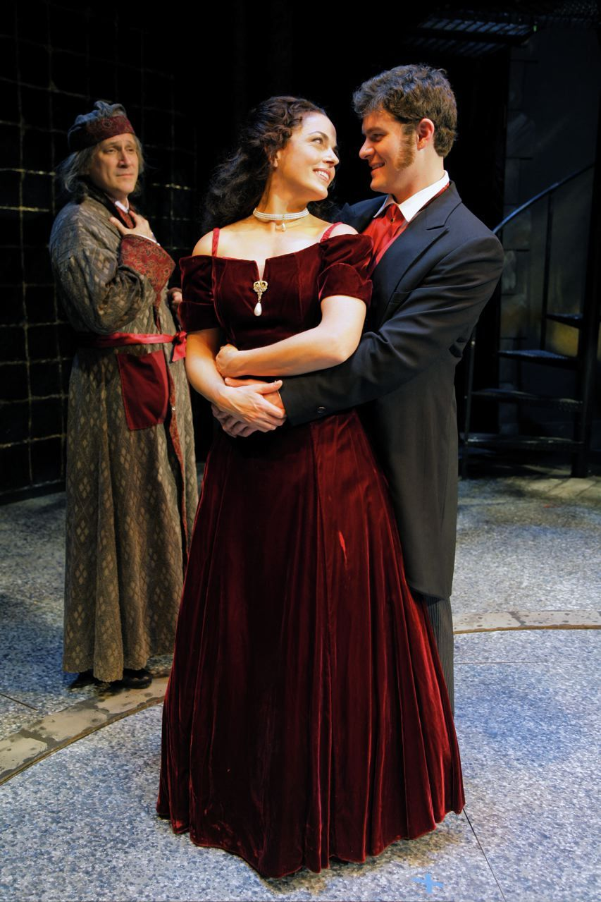 Belle A Christmas Carol.Belle And Younger Scrooge Or Fred And Wife Scrooge And