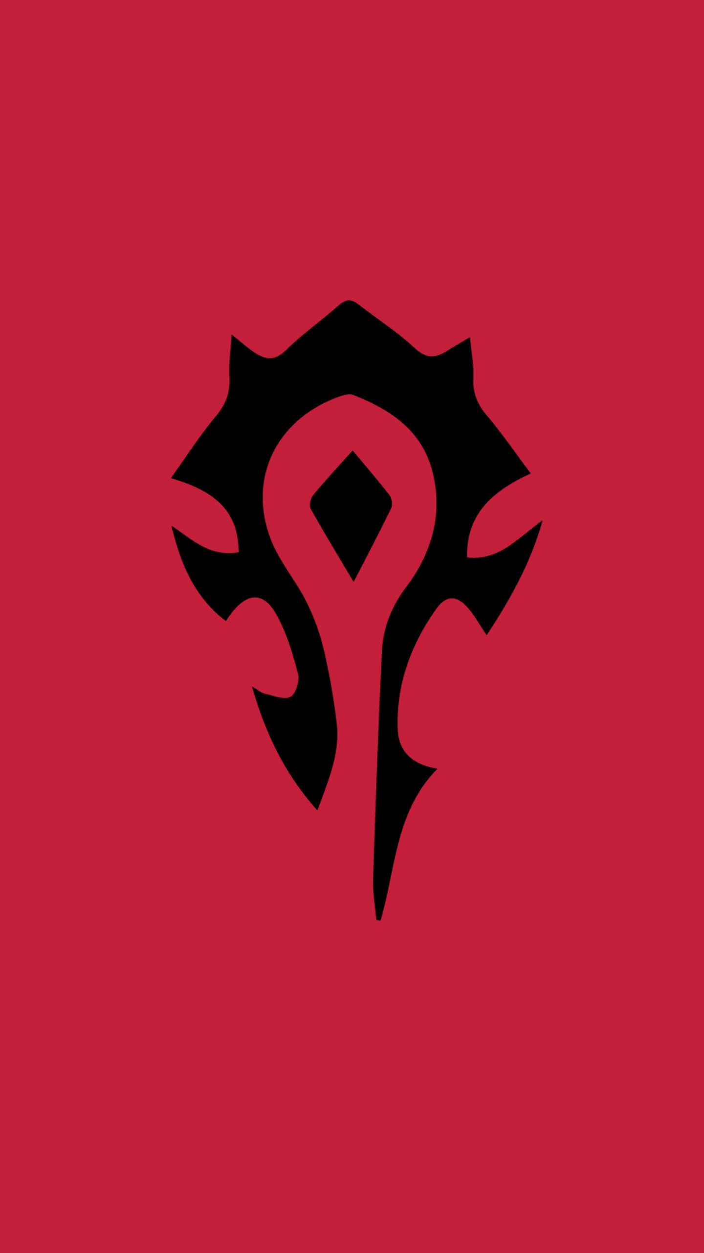 Made A Horde Phone Wallpaper For Myself Thought I D Share Worldofwarcraft Blizzard Hearthstone World Of Warcraft Wallpaper Warcraft Art World Of Warcraft